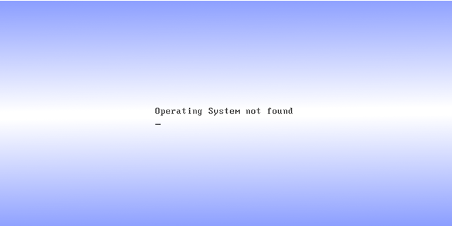 Operating System not found – Possible Solution